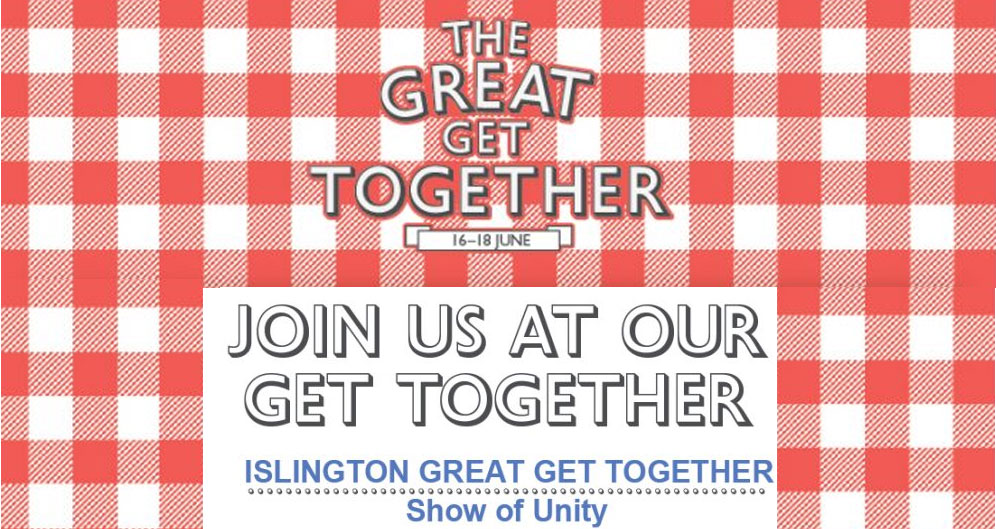 Islington Great Get Together-show of unity