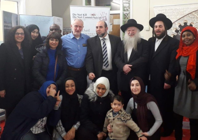 The attack on Jeremy Corbyn at the Muslim Welfare House