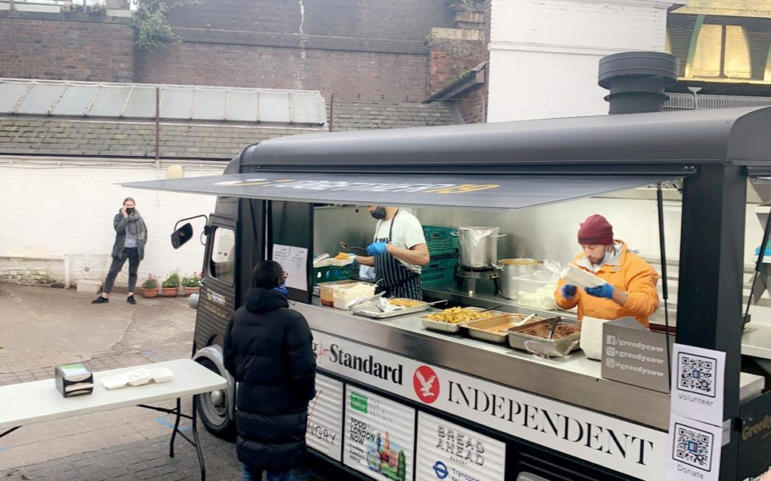 Free Hot meals every Tuesday at 2PM
